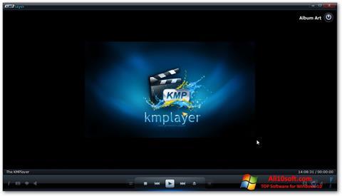Ekrānuzņēmums KMPlayer Windows 10