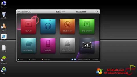Ekrānuzņēmums Free Studio Windows 10