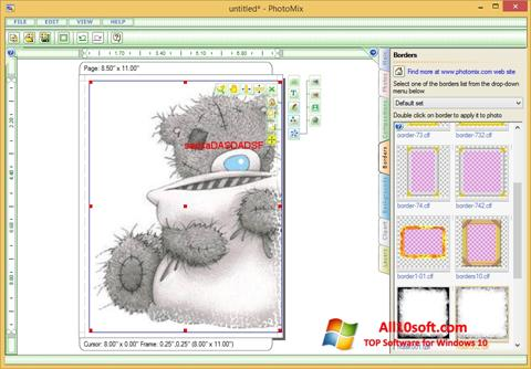 Ekrānuzņēmums PhotoMix Collage Windows 10