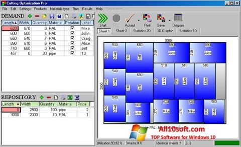 Ekrānuzņēmums Cutting Windows 10