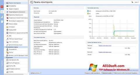 Ekrānuzņēmums Kerio Control Windows 10