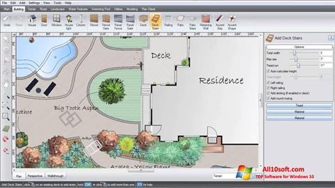 Ekrānuzņēmums Realtime Landscaping Architect Windows 10