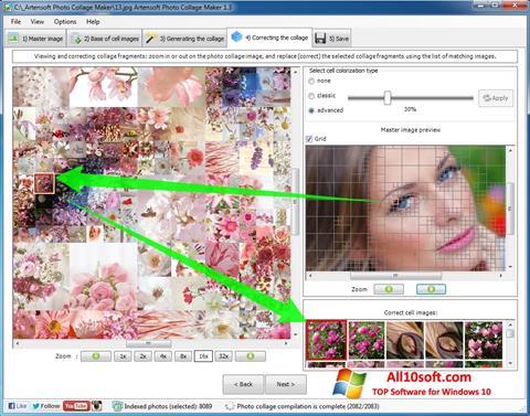 Ekrānuzņēmums Photo Collage Maker Windows 10