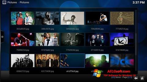 Ekrānuzņēmums Kodi Windows 10