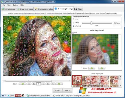 Ekrānuzņēmums Photo Collage Windows 10