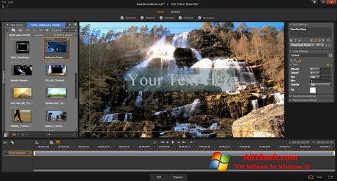 Ekrānuzņēmums Pinnacle Studio Windows 10