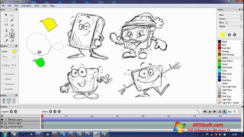 Ekrānuzņēmums Pencil Windows 10